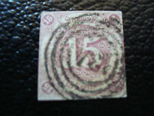 ALLEMAGNE (tour et taxis etat du sud) timbre yt n° 40 obl (A4) stamp germany