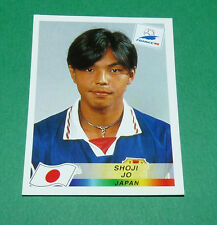 N°529 SHOJI JO JAPON JAPAN PANINI FOOTBALL FRANCE 98 1998 COUPE MONDE WM