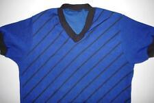 Spielerhemd Trikot blau True Vintage Rückennummer 5 DDR XS 80er shirt 80s