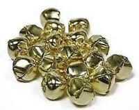 200 x 6mm luxury Gold Plated Jingle Bells