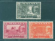 [JSC] MALAYA KEDAH 1957-63 definitives unused