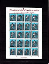Liechtenstein légendes 35 r   feuille 20 TP n° 784