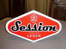66f29f9ecea8b NEW FULL SAIL BREWING 47 SESSION PREMIUM LAGER RED BEER SIGN HOOD RIVER  OREGON