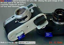 *LUIGI M-MATE3,FAST SD CARD AND BATTERY CHANGE BASEPLATE LEICA M9-M8,FREE STRAP