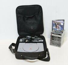 Sony Playstation 1 ps1 Konsole Bundle 20 X Spiele FIFA Crash 2 X Controller 250