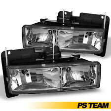 88-98 Chevy/GMC C10 C/K Full Size Pickup Truck Headlights Lamps Lights Pair