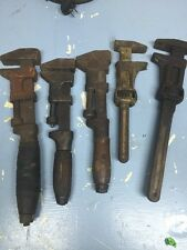 Monkey Wrench Set Vintage Five In All