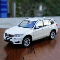 BMW X5 Model Cars Open two doors 1:24 Collection&Gifts Toys White Alloy Diecast