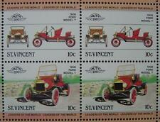 1908 FORD MODEL T Car 50-Stamp Sheet / Auto 100 Leaders of the World