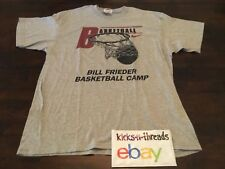 VINTAGE NIKE BASKETBALL CAMP BILL FRIEDER SIGNED GRAPHIC T-SHIRT PREOWNED