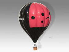 Hot Air Balloon Lady Bug Wood & Fiberglass Handmade Desktop Aircraft Model