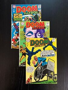 Doom Patrol 116-118, Classic DC Silver Age Series, FN