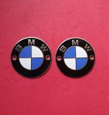 BMW R 50,60,75/R 50/3;60/3;75/3/  Ø 70 mm Embleme /Paar/ alt,Orginal restauriert