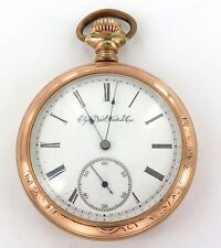 * RARE ONLY 8,000 MADE / 1894 ELGIN 16S 11J MENS POCKET WATCH.