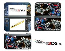 SKIN DECAL STICKER - NINTENDO NEW 3DS XL - REF 119 TRANSFORMERS