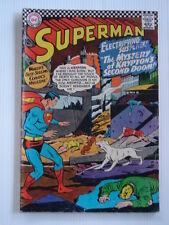 SUPERMAN #189 VG (4.0) KRYPTO KANDOR DESTRUCTION
