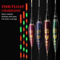 10Styles Led Light Fishing Float Smart Night Luminous Fishing Float Gear Outdoor
