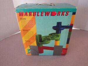 Vintage Discovery Toys Marbleworks Marble Run OG Box 1990