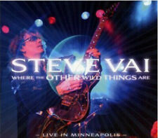 STEVE VAI WHERE THE OTHER WILD THINGS ARE CD NEW LIVE 2010