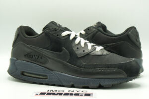 NIKE AIR MAX 90 USED SIZE 10.5 SOUTH BLACK ANTHRACITE 325018 016