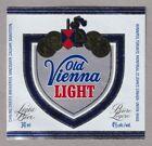Old Vienna Light Beer Label