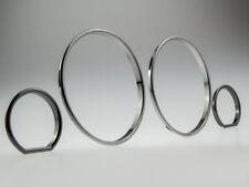 Black-cromo velocímetro anillos anillos velocímetro letronix clip bmw e32 e34 m5 clips