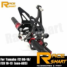 Fit Yamaha FZ8 2010 - 2013 (non-ABS) 2011 2012 Racing Footrests Foot Pegs Pedals