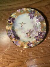 """Bradford Exchange Collector's Plate Lena Liu Delicate Treasures """"Ruby Splendor�"""