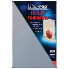 """Ultra Pro Toploader 11""""x17"""" Clear Card Holder 10 Pack [NEW] Case Top Loader CDG"""
