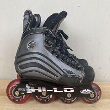 Mission Helium 150 Hi-Lo Inline Hockey Skates Roller Blades Size 12 YOUTH