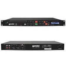 GEMINI CDMP 1500 lettore multimediale cd player usb mp3 wav a rack x dj bar