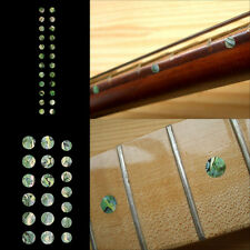 Fret Markers Inlay Sticker Decal Guitar & Bass - Custom Dot SET Abalone Green