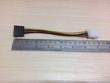 SATA Strom Kabel Adapter DIE 4 PIN Strom Stecker auf S-ATA Buchse 15cm HDD DVD