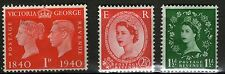 Great Britain - 3 MH Stamps - MH