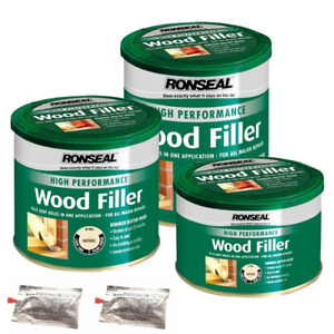 Ronseal Filler High Performance Two-Part Wood Filler 3 Sizes And All Colours