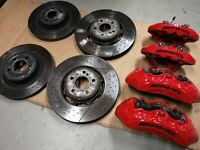 Mercedes E63 W212 AMG Brembo Performance Upgrade Bremsanlage (VA+HA)