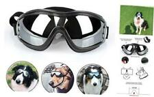 PETLESO Dog Goggles - Large Dog Eye Protection Doggles Windproof Black