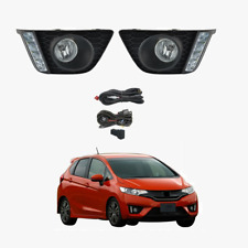Fog Light Kit with DRLs for Honda Jazz GF 2014-2017 with Wiring & Switch