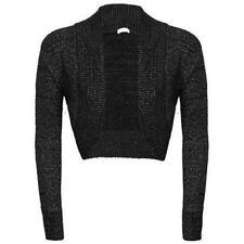 Polyester Regular Size Jumpers & Cardigans Boleros for Women