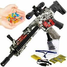 Gel Soft Scar USB Automatic Toy Blaster Water Crystal Rifle Gun Adults & Kids