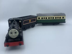 Tomy Trackmaster Plarail Donald the Scottish Engine with Express Coach