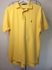 Polo Ralph Lauren De Hombre Talla Grande Camisa Polo amarillo