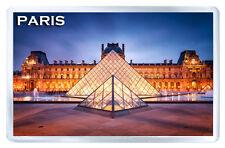 LOUVRE MUSEUM PARIS MOD3 FRIDGE MAGNET SOUVENIR IMAN NEVERA