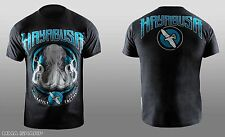 Hayabusa Men's Octopus Tee Shirt Black/Blue 2X-Large