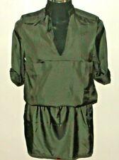 BN G Star Raw Cruiser Dress 3/4 Sleeves, Battle Grey, Glace Twill Size L UK 14