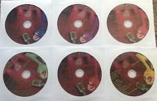 6 CDG DISCS SET KARAOKE KURRENTS (RED COVERS) LADY GAGA,KATY PERRY *HOLIDAY SALE