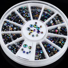 Rhinestone Colour-Changing Nail Art Accessories