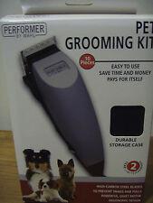 Wahl Pet Grooming Kit - High-Carbon Steel Blades,  Model 9653-400, PN 58812-100