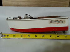 Battery Operated Fiesta Queen Wood Boat Made In Japan