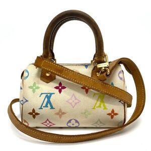LOUIS VUITTON M92645 Monogram multi Mini Speedy Mini Duffle Bag Shoulder Bag
